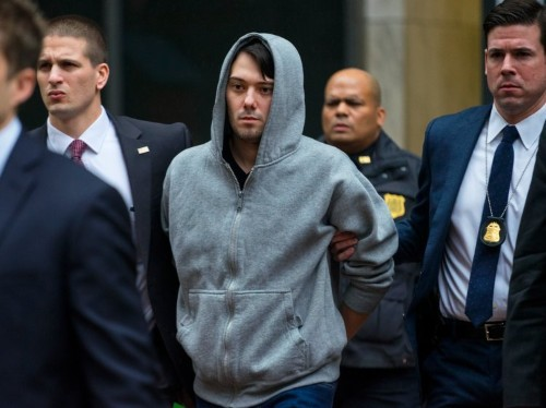 SHKRELI: They arrested me because I jacked the price of pharma drugs