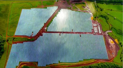 Tesla is powering the Hawaiian island of Kauai with more than 54,000 solar panels and its giant battery packs