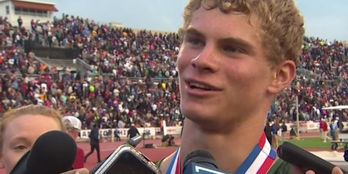 High school sprinter putting up Olympic-level times accepts Ted Ginn's challenge to a $10,000 race