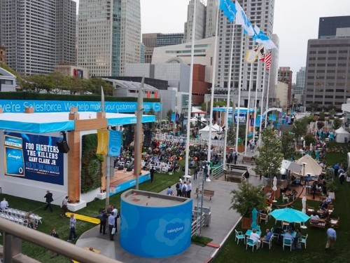 More than 170,000 people are coming to San Francisco for Salesforce's blockbuster event this week — here's what to expect