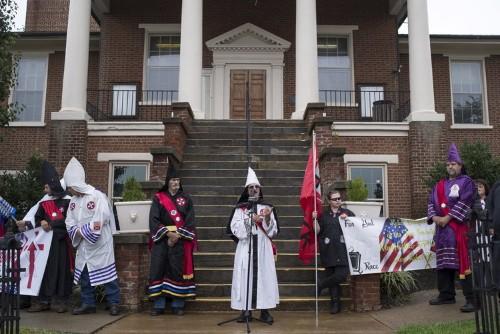 A Reuters photographer provides a disturbingly intimate look into the Klu Klux Klan
