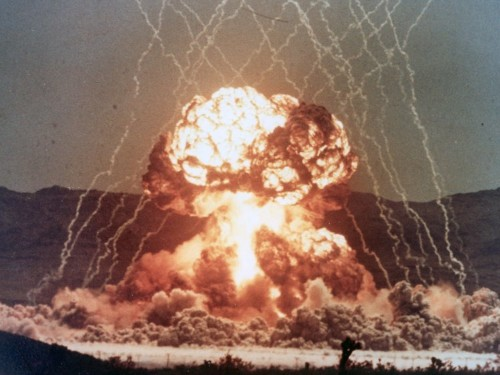 Yes, a physicist once lit his cigarette with a nuclear bomb explosion. Here's how it worked.