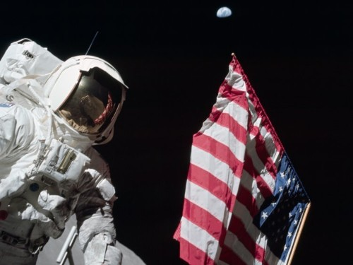 A 40-year-old mystery about rising temperatures on the moon has been solved — and it was probably the Apollo astronauts' fault