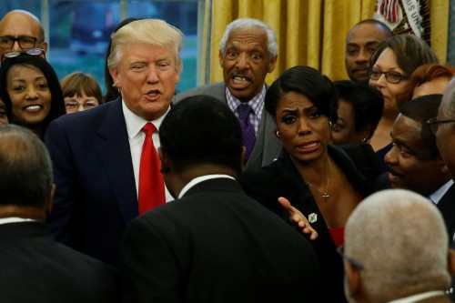 'You want me to put that face on the twenty-dollar bill?': Omarosa claims Trump slammed the idea of replacing Andrew Jackson's face with Harriet Tubman's