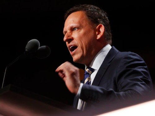 Peter Thiel said AI is a 'military technology' but experts disagree