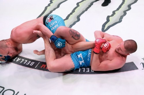 Aviv Gozali's 11 second submission win was completely rehearsed