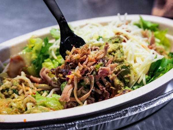 Chipotle is trying to win over Whole30 dieters with new menu items - Business Insider