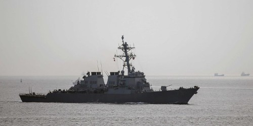 The US Navy has sent another ship into the Black Sea, where Ukraine is preparing for another Russian attack