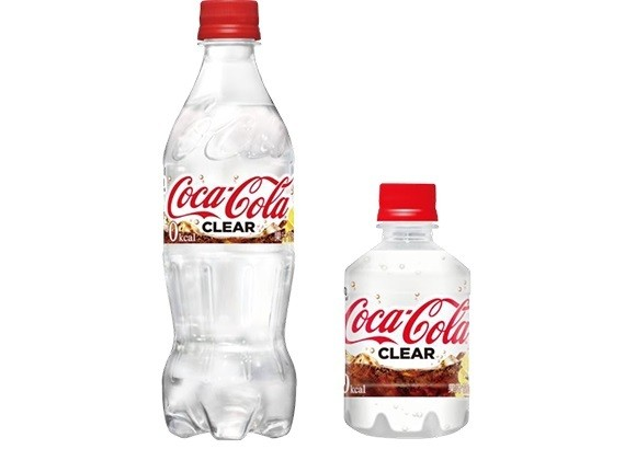 Japan is first in the world to get 'Coca-Cola Clear', which has no colour or calories and tastes like lemon