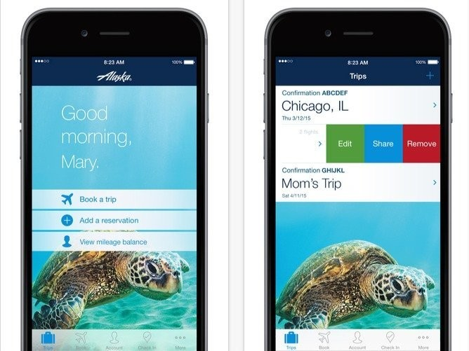 The 8 highest-rated travel apps