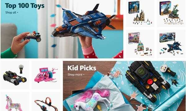 Amazon charges brands to be featured in its holiday toy guide: Report - Business Insider