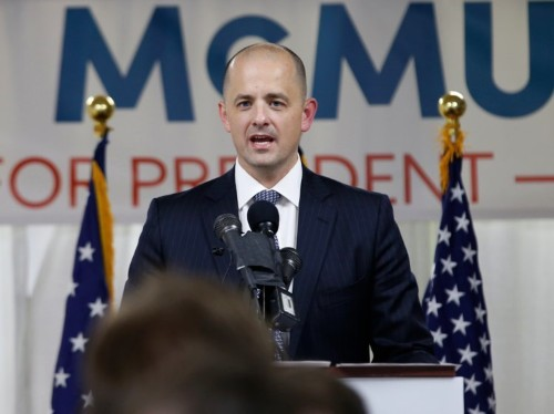 Republicans are attacking presidential candidate Evan McMullin as he threatens Trump in Utah