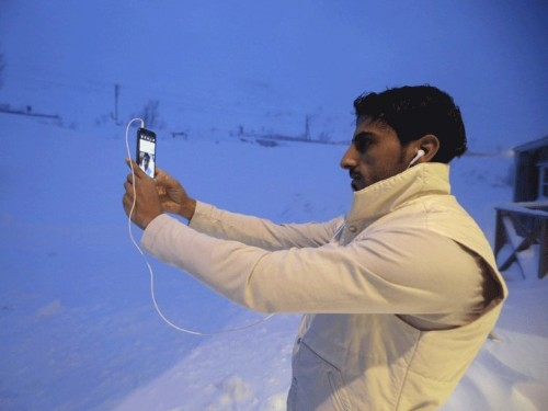 Sweden is now housing refugees in ski resorts above the Arctic Circle