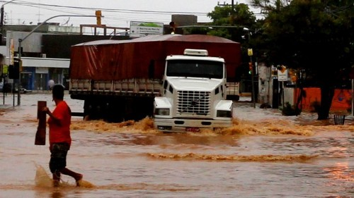 Massive Floods In Brazil Force 50,000 People To Evacuate Their Homes