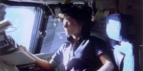 Sally Ride: Read letter that led her to be 1st American woman in space
