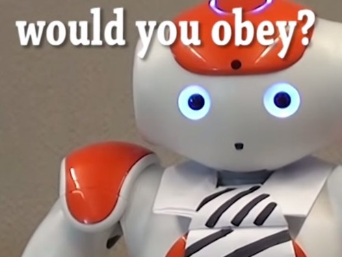 MIT Study Shows People Would Rather Take Orders From A Robot Than Their Boss
