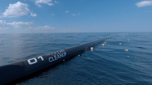 The massive ocean cleanup device invented by a 24-year-old is spilling plastic in the Great Pacific Garbage Patch