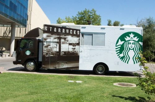 Starbucks Is Bringing Coffee Trucks To College Campuses