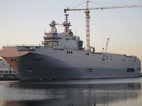 Russia says it's getting a refund for the warships France won't hand over to them