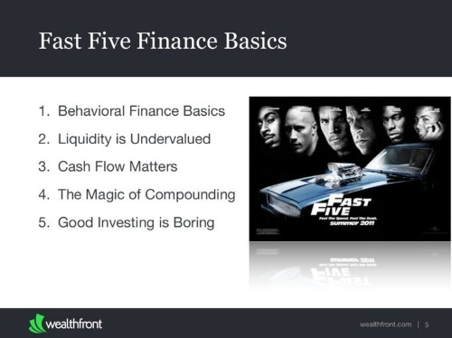 Here's the basic personal finance presentation requested by companies like Twitter, Facebook, and LinkedIn