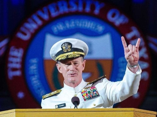 A Navy SEAL commander told students to make their beds in the best graduation speech of 2014