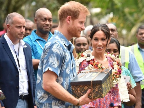 The royal family publishes lists of all of the gifts Meghan Markle, Prince Harry, and the others receive from the public, and some of them are pretty bizarre