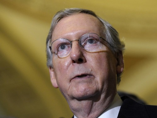 Mitch McConnell Is Vowing To 'Crush' The Tea Party Everywhere