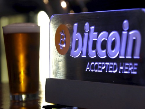 Bitcoin has become an unlikely safe haven as global turmoil has rocked markets. But not everyone thinks that's a good idea.
