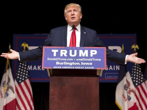 Donald Trump taunts Iowans in Iowa speech: 'You have not picked a lot of winners'