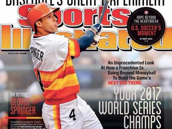 In 2014 Sports Illustrated predicted the Astros World Series run - Business Insider