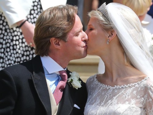Lady Gabriella's wedding kiss had one difference to Harry and Meghan's