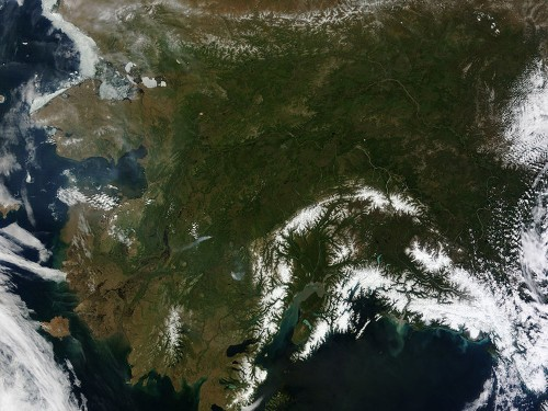 This Rare, Clear View Of Alaska Is A Bad Sign
