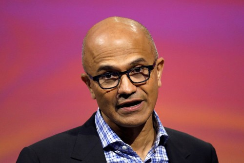 Microsoft shouldn't feel satisfied with success, Satya Nadella says