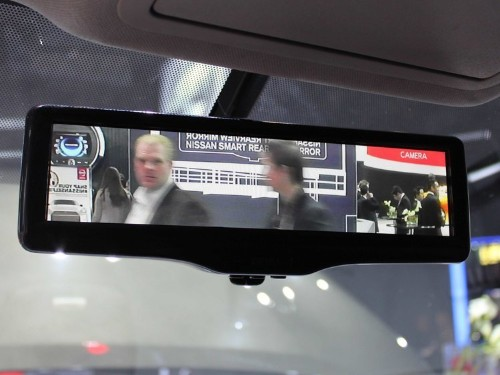 Nissan Just Revolutionized The Rearview Mirror