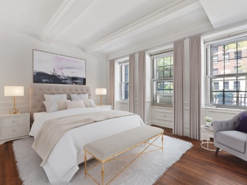 Duplex for sale in apartment building where Marilyn Monroe once lived