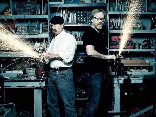 'Mythbusters' star Adam Savage on how he survived 14 seasons with Jamie Hyneman - Business Insider