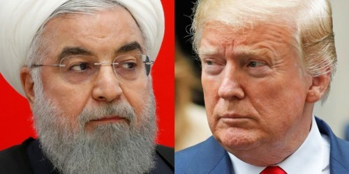 Iran Hassan Rouhani says Trump White House has 'mental retardation'
