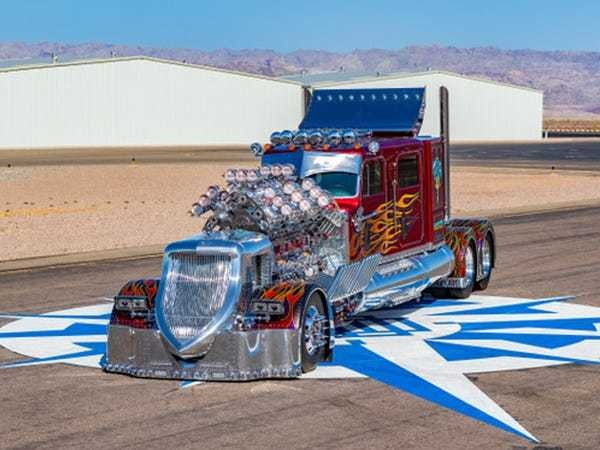 Peterbilt big rig truck Thor 24 sold for $13.2 million in Saudi Arabia - Business Insider