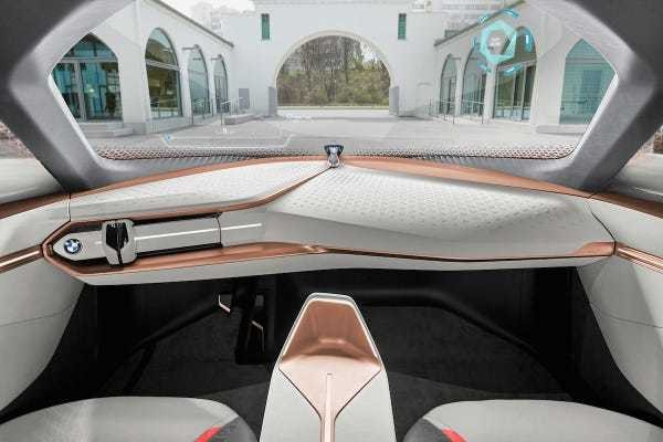 BMW's driverless concept car looks straight from the future - Business Insider