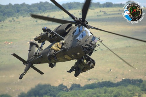 Italy deploys attack helicopters to Iraq