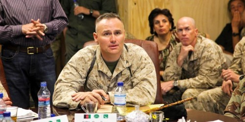 Marine general who demeaned women and workers still in Corps