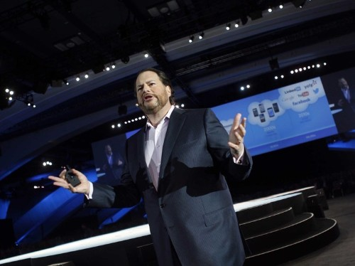 Someone wants to buy $44 billion Salesforce