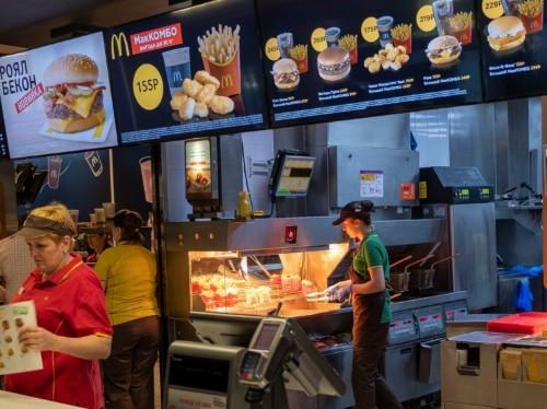 McDonald's comparison: Russia's are cleaner, faster than America's