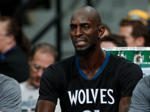 Kevin Garnett has a bizarre analogy for what it's like playing with the young, upstart Minnesota Timberwolves
