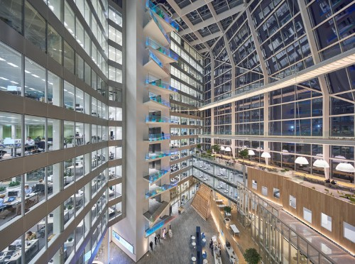 Deloitte has an office building designed to engineer the perfect workday for every employee