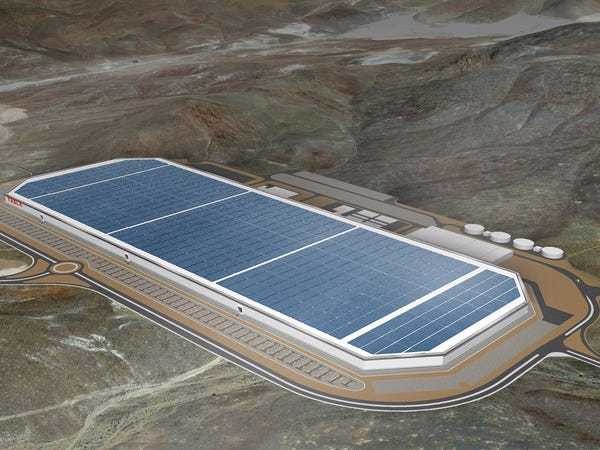 An early look at Elon Musk's Gigafactory, a building that could change the world - Business Insider