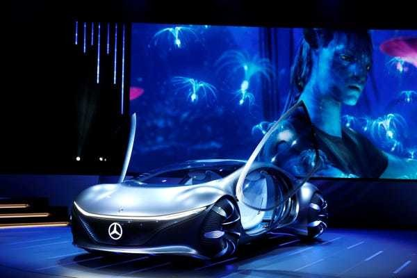 CES 2020 highlights: Sony car, Segway S-Pod, and other cool tech - Business Insider