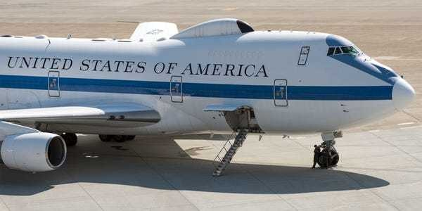 Air Force E-4B Doomsday plane being grounded for repairs - Business Insider