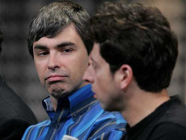 Trending: The thrill is gone for Google cofounders Larry and Sergey - Business Insider