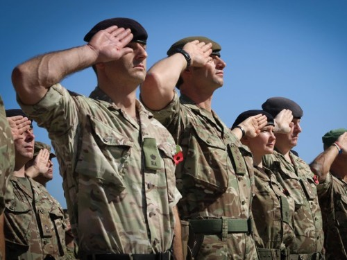 British Army marks US Army's 244th birthday with a cheeky tweet referencing their 'rocky start'